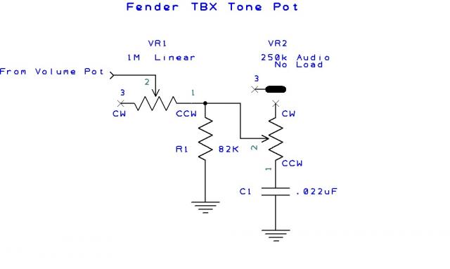 the tbx tone control guitarnutz 2 speaker wiring diagram the whole combined circuit is wired to the same two points as a standard tone circuit, between ground and hot, usually before the volume control